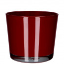 Glass bucket Conner, painted from the inside, for